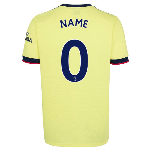Arsenal Away Jersey with Your Name 2021/22 (Adidas)