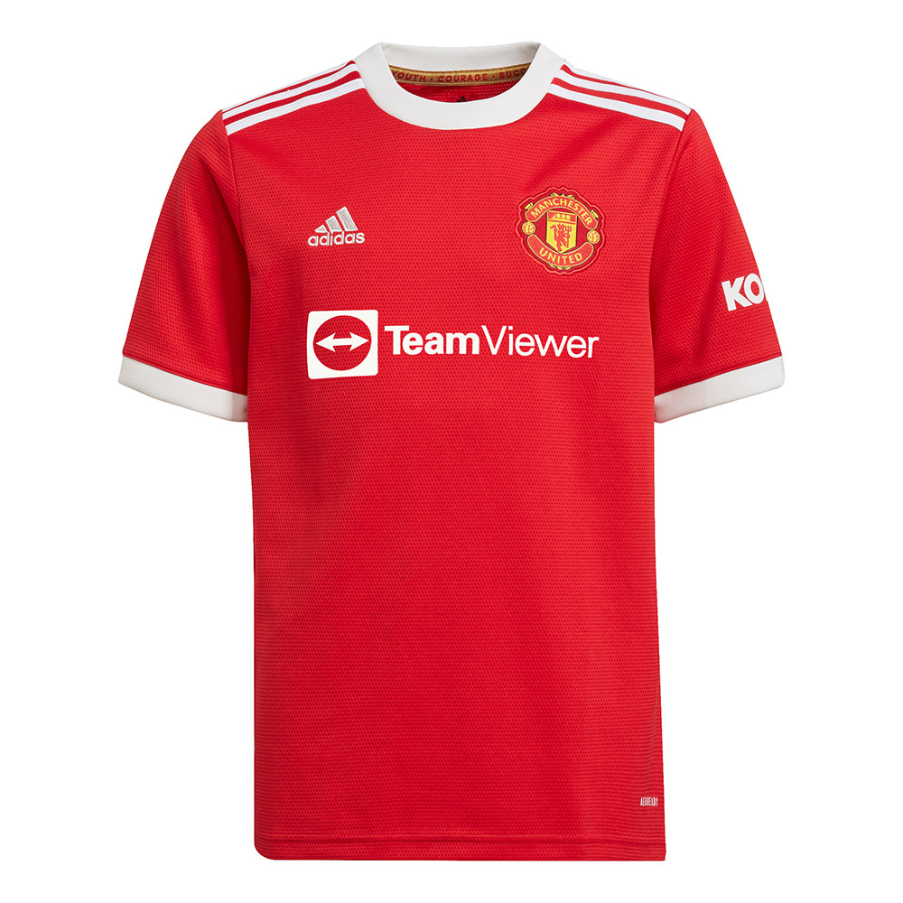 Manchester United Kids' Home Jersey 2021/22 (Adidas)