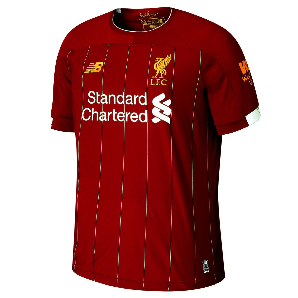liverpool home jersey with your name 2019 20 new balance mt930000 name amstadion com liverpool home jersey with your name 2019 20 new balance