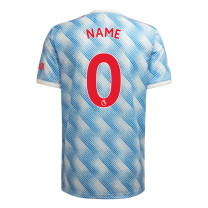 Manchester United Away Jersey with Your Name 2021/22 (Adidas)