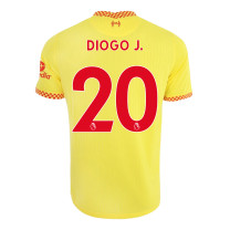Diogo J. 20 Liverpool Third Jersey 2021/22 (Nike)