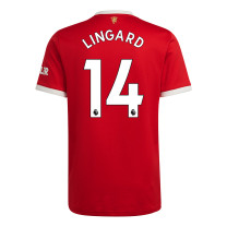 Lingard 14 Manchester United Home Jersey 2021/22 (Adidas)