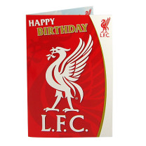 Liverpool Music Birthday Card