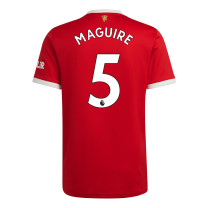 Maguire 5 Manchester United Home Jersey 2021/22 (Adidas)