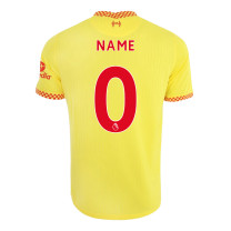 Liverpool Third Jersey with Your Name 2021/22 (Nike)