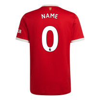 Manchester United Home Jersey with Your Name 2021/22 (Adidas)