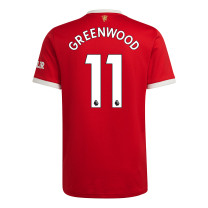 Greenwood 11 Manchester United Home Jersey 2021/22 (Adidas)