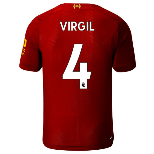 Virgil 4 Liverpool Home Jersey 2019/20 (New Balance)