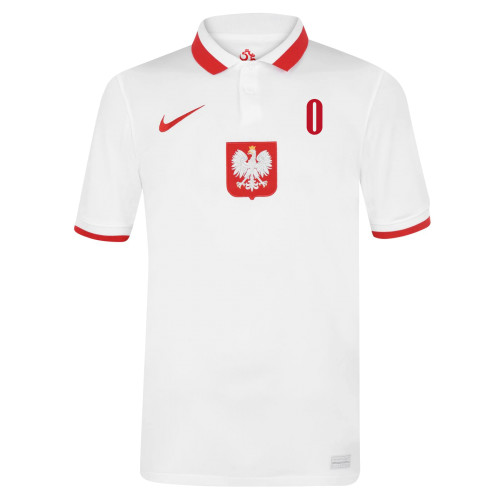 Poland Vapor Match 2020 Home Jersey with Your Name (Nike)