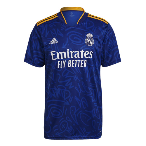Real Madrid Away Jersey with Your Name 2021/22 (Adidas)