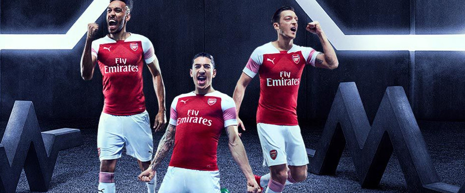 Arsenal FC home jersey 2018/19