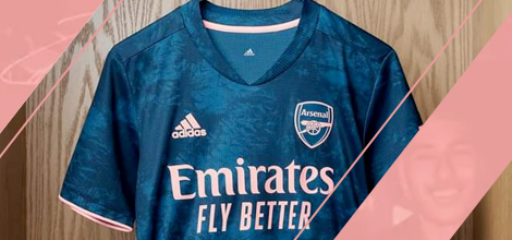 Arsenal third jersey 2020/21