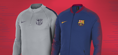 FC Barcelona apparel collection by Nike