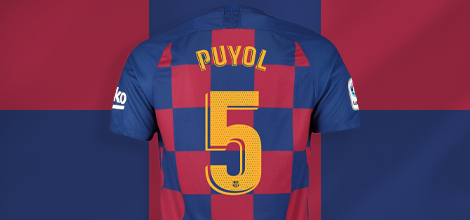 FC Barcelona home jersey with your name 2019/20