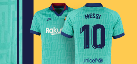 FC Barcelona third jersey 2019/20 Messi 10