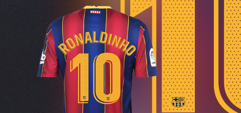 FC Barcelona home jersey with your name 2020/21