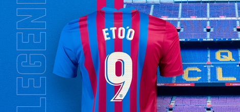 FC Barcelona home jersey with your name 2021/22