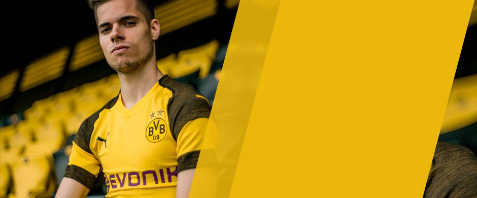 Borussia Dortmund home jersey for the 2018/19 season