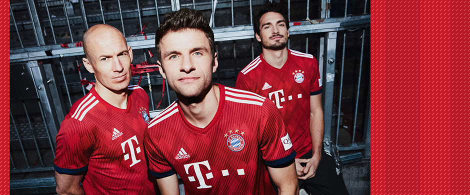 Bayern Munich home jersey 2018/19