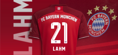 Bayern Munich home jersey with your name 2021/22