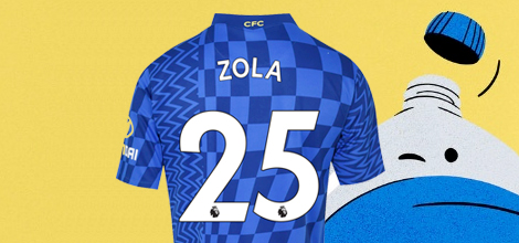 Chelsea Home Jersey 2021/22 with Custom Print