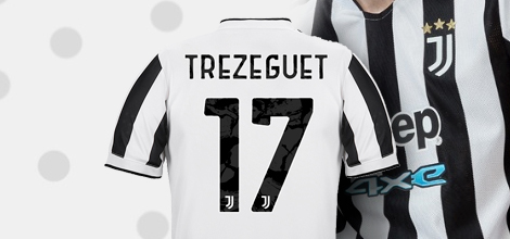 Juventus home jersey with own print 2021/22