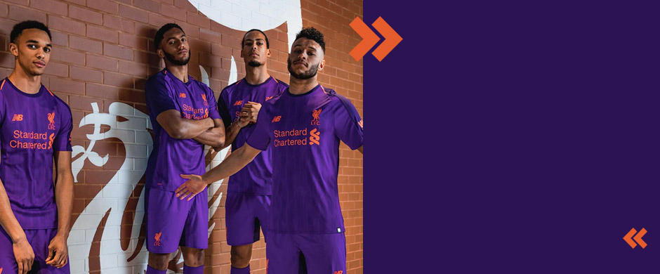 New Liverpool FC away jersey 2018/19