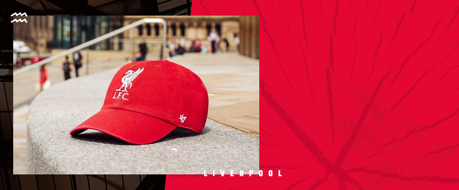 Liverpool FC caps from 47' Brand