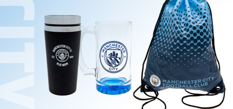 Manchester City football accessories