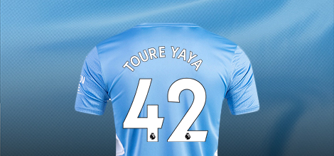 Manchester City home jersey with your name 2021/22