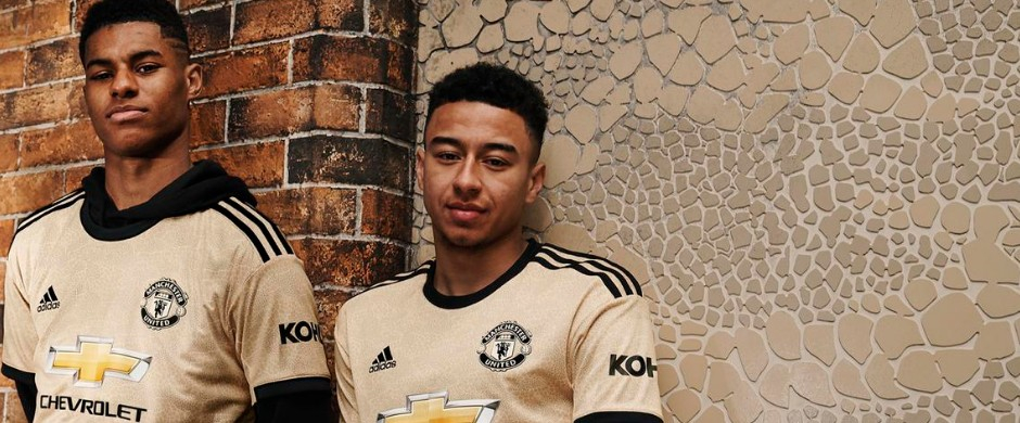 Manchester United away jersey 2019/20
