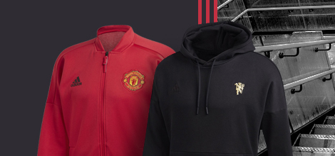 Manchester United apparel by Adidas