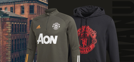 Manchester United football apparel