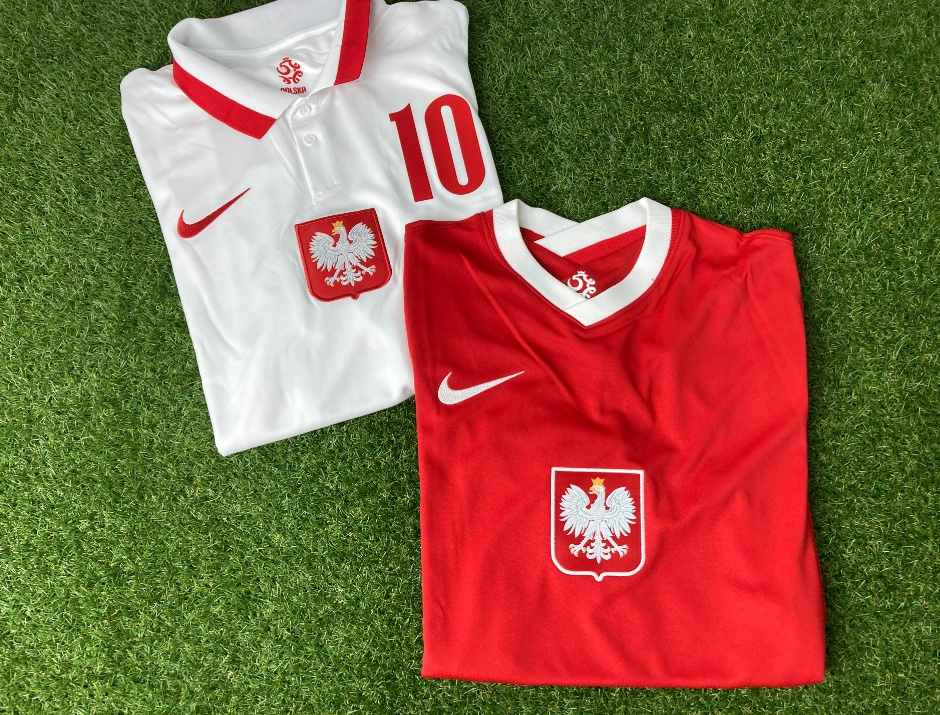 Poland home and away jerseys 2020