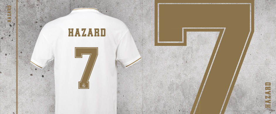 Real Madrid Hazard 7 jersey