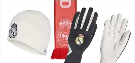 Real Madrid winter accessories