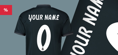 Real Madrid away jersey 2018/19 - free customization