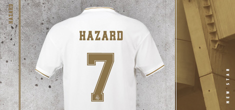 Real Madrid Hazard 7 jersey 2019/20