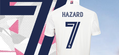 Real Madrid Hazard 7 jersey 2020/21