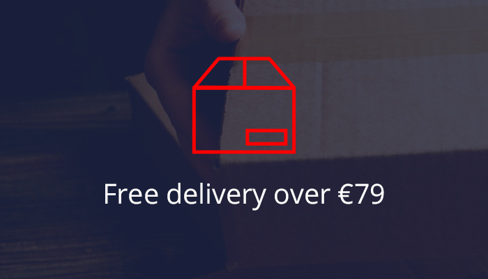 Free delivery over €79