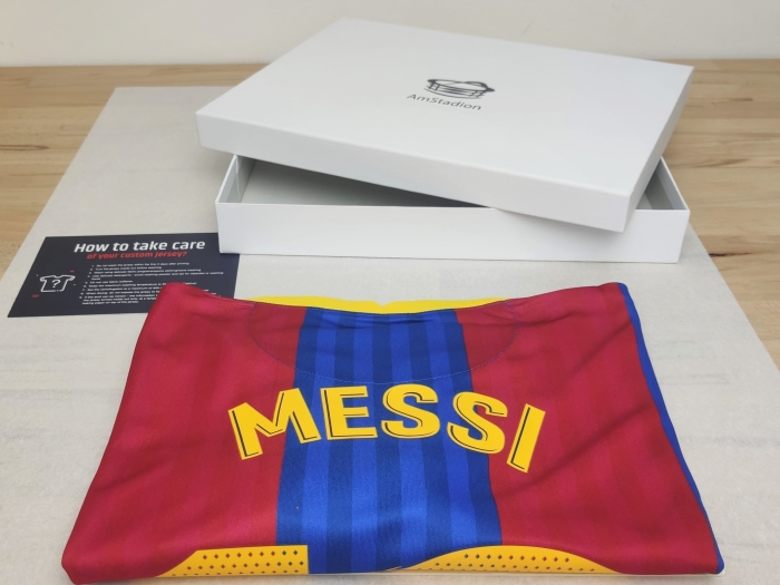 Jersey and goft box